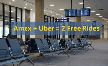 Amex Cardholders Get Two Free Uber Rides from Select Airports