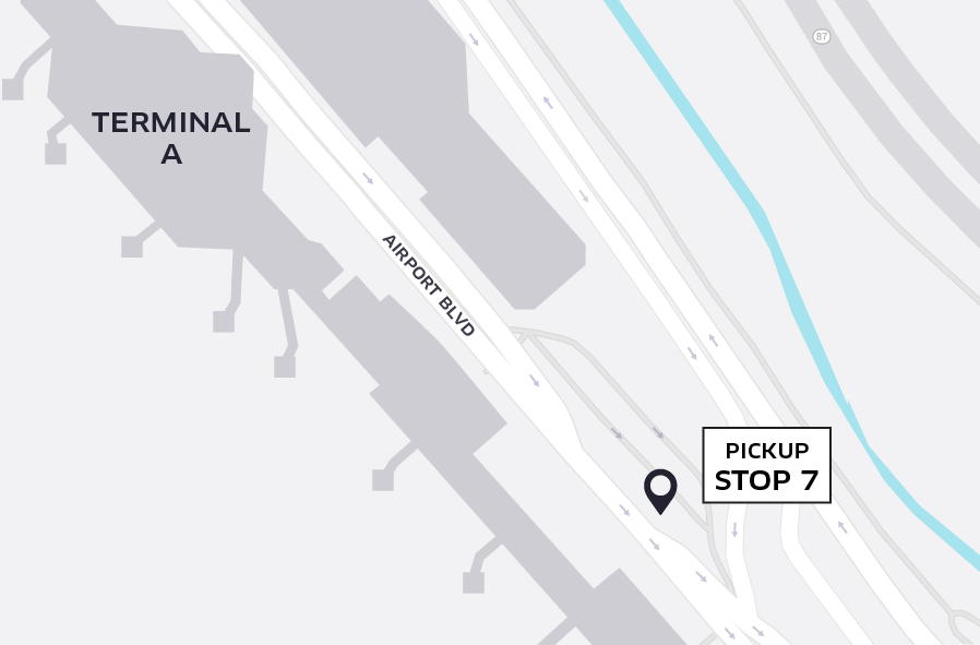 Uber Pickup at SJC Terminal A